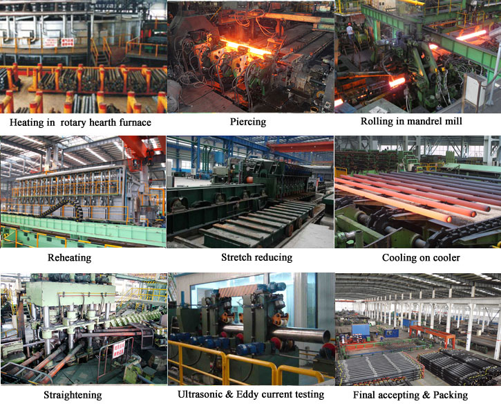 seamless steel pipe facilities