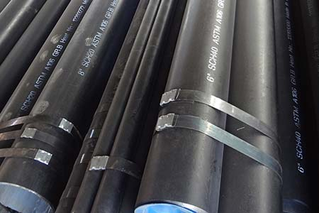 ASTM A106 carbon seamless steel pipe & tube
