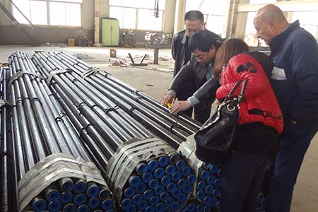 Ship building pipe